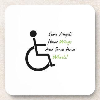 Porta-copo Apoio do amor da cadeira de rodas do presente da