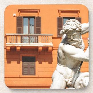 Porta-copo Arquitetura italiana na praça Navona, Roma, Italia
