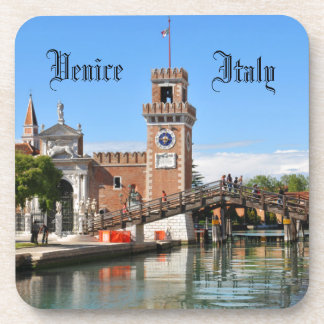 Porta-copo Arsenal em Veneza, Italia