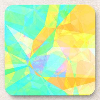Porta-copo Arte artística do fundo do abstrato da pintura do