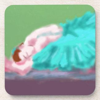 Porta-copo Arte de descanso do balé