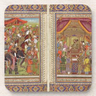 Porta-copo Arte muçulmana islâmica de Boho do Islão de India