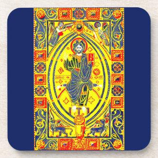 Porta-copo Arte popular bizantina Jesus