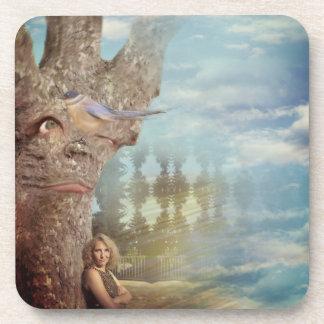 Porta-copo Árvore mal-humorada
