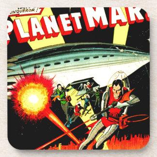 Porta-copo Ataque no planeta Marte
