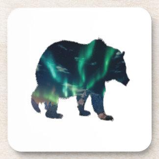 Porta-copo Aurora boreal