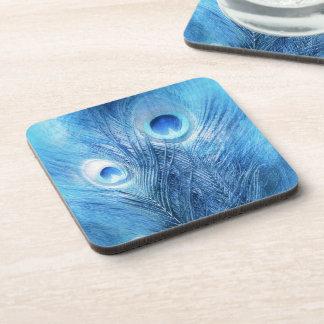Porta-copo Azul de pavão