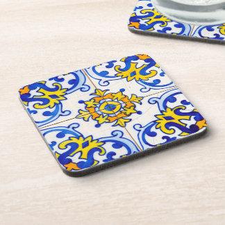 Porta-copo Azulejo tradicional de Azulejo do português