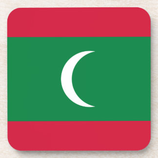 Porta-copo Baixo custo! Bandeira de Maldives