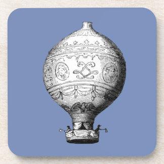 Porta-copo Balão de ar quente do vintage de Montgolfier