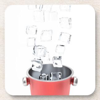 Porta-copo Balde de gelo
