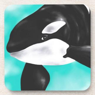 Porta-copo Baleia bonito da orca