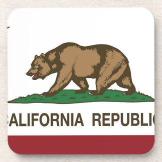 Porta-copo Bandeira de Califórnia