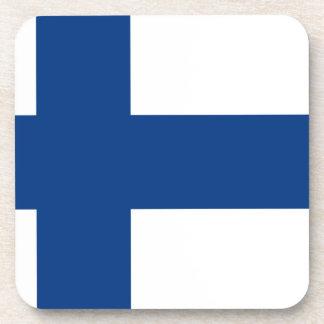 Porta-copo Bandeira do lippu de Finlandia - de Suomen -