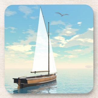 Porta-copo Barco de navigação - 3D rendem