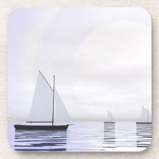 Porta-copo Barcos de navigação - 3D rendem
