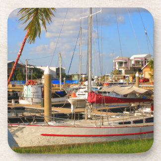 Porta-copo Barcos no porto, Darwin, Austrália