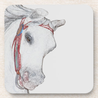 Porta-copo Bebida das cinzas do cavalo do passeio do