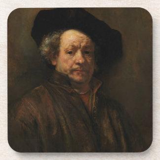 Porta-copo Belas artes do retrato de auto de Rembrandt Van