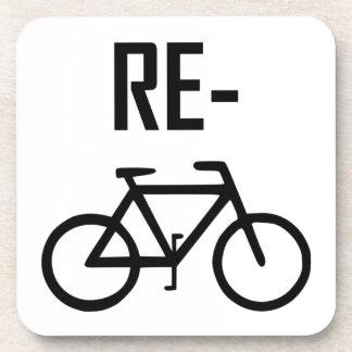 Porta-copo Bicicleta da bicicleta do reciclar