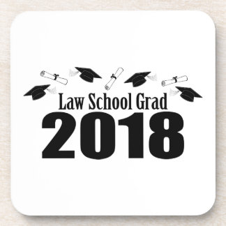 Porta-copo Bonés do formando 2018 da escola de direito e
