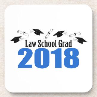 Porta-copo Bonés e diplomas do formando 2018 da escola de