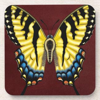 Porta-copo Borboleta de Swallowtail do tigre