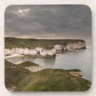 Porta-copo Cabeça de Flamborough e foto da lembrança da baía