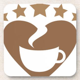 Porta-copo Café do amor