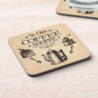Porta-copo Cafetaria do vintage