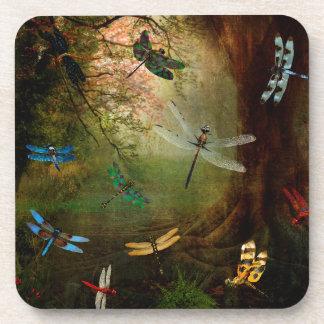 Porta-copo Campo de jogos da libélula