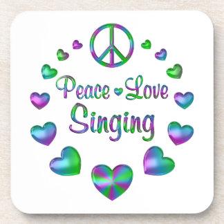 Porta-copo Canto do amor da paz