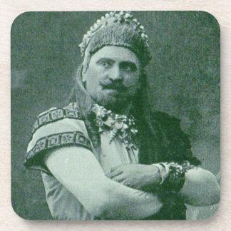 Porta-copo cantor francês louco da ópera 1909