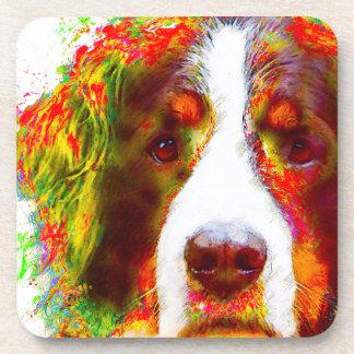 """Porta-copo Cão de montanha de Bernese do """"RELÓGIO"""" -"""