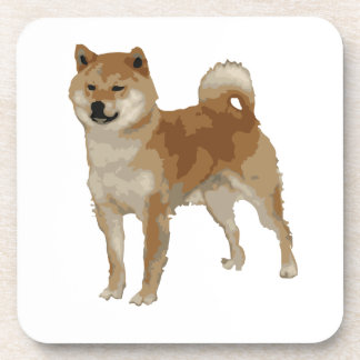 Porta-copo Cão de Shiba Inu
