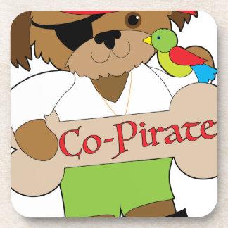 Porta-copo Cão do Co-Pirata