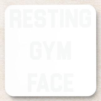 Porta-copo Cara de descanso do Gym