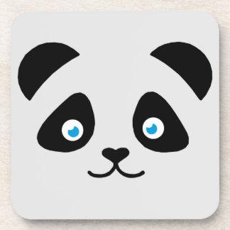 Porta-copo cara do urso de panda