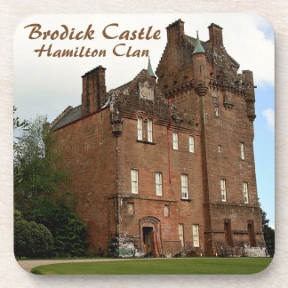 Porta-copo Castelo de Brodick - clã de Hamilton