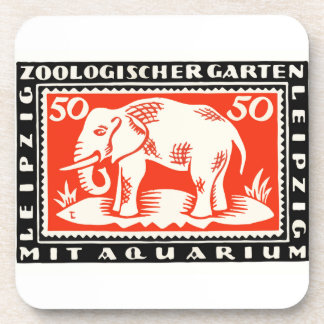 Porta-copo Cédula 1919 de Notgeld do jardim zoológico de