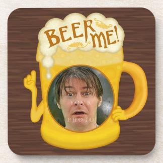 Porta-copo Cerveja engraçada mim foto personalizada | do