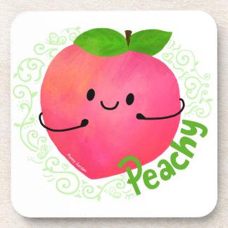 Porta-copo Chalaça positiva do pêssego - Peachy