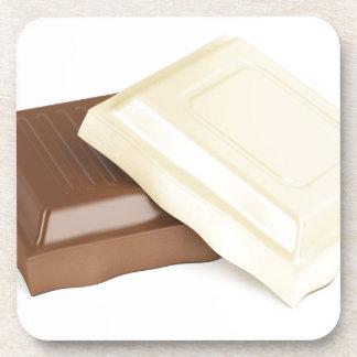Porta-copo Chocolate branco e marrom