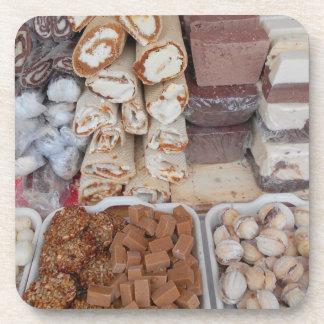 Porta-copo Chocolate, nougat, biscoitos, doces