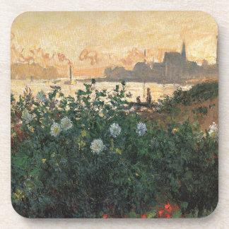 Porta-copo Claude Monet - Riverbank florescido Argenteuil