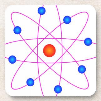 Porta-copo clipart modelo do vetor do átomo