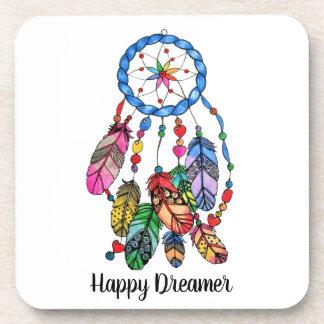 Porta-copo Coletor do sonho do arco-íris da aguarela &