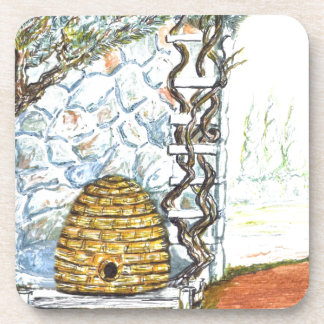 Porta-copo colheita do rockwall