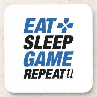 Porta-copo Coma a repetição do jogo do sono