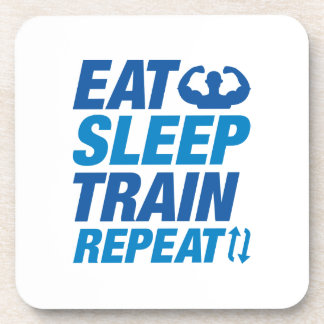 Porta-copo Coma a repetição do trem do sono